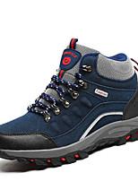 preiswerte -Herrn Schuhe Nubukleder Winter Herbst Komfort Sneakers für Draussen Grau Blau
