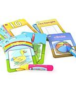 Недорогие -Игрушечные планшеты для рисования Игрушки Самолет Квадратный Спортивные товары Животные Живопись Куски