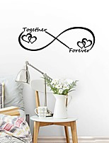 cheap -Cartoon Words & Quotes Wall Stickers Plane Wall Stickers Decorative Wall StickersVinyl Home Decoration Wall Decal Window Wall