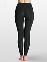 cheap -Women's Running Pants Breathability Tights Exercise & Fitness Cycling / Bike Running Walking Nylon Black Green S M L