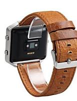 economico -Cinturino per orologio  per Fitbit Blaze Fitbit Custodia con cinturino a strappo Chiusura moderna Pelle