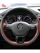 cheap -Automotive Steering Wheel Covers(Leather)For Volkswagen 2017 Teramon With paddle