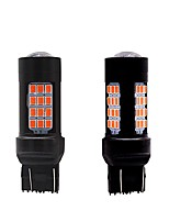cheap -2PCS European Car Models Fittable 27W LED Turn Signal Light VW Golf Renault Clio VW Polo Ford Fiesta Opel Corsa 100% Suitable LED Turn Signal Amber