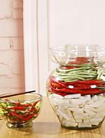 Недорогие -Стекло Творческая кухня Гаджет Хранение продуктов питания 1шт Кухонная организация