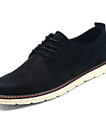 cheap -Men's Shoes Suede Spring Fall Light Soles Sneakers for Casual Black Brown Khaki