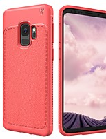 cheap -Case For Samsung Galaxy S9 Plus S9 Shockproof Frosted Back Cover Solid Color Soft TPU for S9 S9 Plus