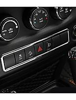 Недорогие -автомобильный Центровые стековые обложки Всё для оформления интерьера авто Назначение Jeep 2017 2016 2015 2014 2013 2012 2011 Wrangler
