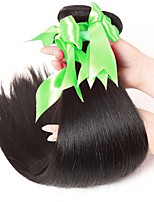 cheap -Peruvian Straight Human Hair Weaves 3 Pieces 0.15