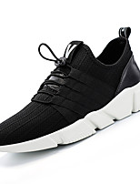 cheap -Men's Shoes Rubber Spring Fall Comfort Sneakers for Casual Black Gray