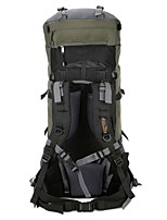 cheap -80 L Hiking & Backpacking Pack Rucksack Backpack Hiking Outdoor Exercise Camping&Hiking Back Country Mountaineering Travel Waterproof
