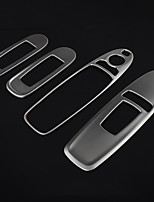 Недорогие -автомобильный стеклоподъемник переключатель охватывает DIY автомобильные салоны для nissan все годы патруль y62 stailess стальной пластик