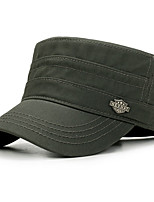 cheap -Unisex Cotton Baseball Cap,Casual Solid All Seasons Black Navy Blue Army Green