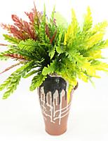 abordables -1 Une succursale Plastique Plantes Fleur de Table Fleurs artificielles