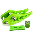 cheap -Green 10MM Chain Tensioner Chains Guard Protector Slider Set For Motocross Dirt Pit Bike