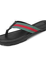 cheap -Men's Shoes PU Fabric Spring Summer Comfort Slippers & Flip-Flops for Casual Black/Green Black/Red