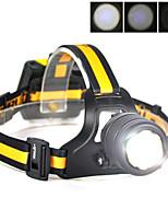 preiswerte -Boruit® B18 Stirnlampen LED 400 lm 3 Modus Cree XM-L L2 Professionell Verstellbar Gute Qualität Camping / Wandern / Erkundungen Für den