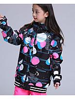 cheap -Kid's Ski Jacket Warm Snow Sports Cotton Chinlon