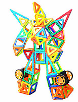 cheap -Magnetic Blocks 89 pcs Transformable Toy Round Car Girls' Boys' Gift
