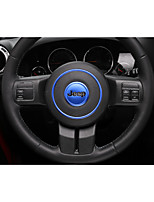 cheap -Automotive Steering Wheel Decor Frame DIY Car Interiors For Jeep 2011 2012 2013 2014 2015 2016 2017 Wrangler Plastic