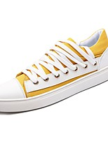 cheap -Men's Shoes Canvas Spring Fall Comfort Sneakers for Casual Green Yellow Black