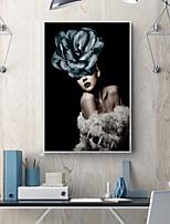 Недорогие -Мода Предметы искусства,Дерево материал с рамкой For Украшение дома Предметы искусства в рамках В помещении