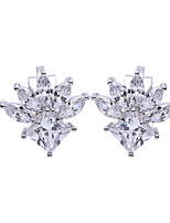 cheap -Women's Stud Earrings Clip Earrings Rhinestone Basic Rhinestone Jewelry For Wedding Party