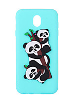 cheap -Case For Samsung Galaxy J7 (2017) J5 (2017) Pattern Back Cover Panda Soft TPU for J7 (2017) J7 (2016) J5 (2017) J5 (2016) J3 (2017) J3