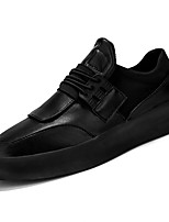 cheap -Shoes PU Spring Fall Light Up Shoes Comfort Sneakers for Casual White Black