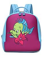 cheap -Children's Bags PU Backpack Zipper for Casual All Seasons Blushing Pink Purple Yellow Fuchsia Brown