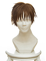 cheap -Cosplay Wigs Cardcaptor Sakura Anime Cosplay Wigs 35 CM Heat Resistant Fiber Men's