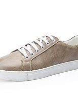 cheap -Shoes Cowhide Leather Spring Fall Driving Shoes Comfort Sneakers for Casual Office & Career White Black Khaki