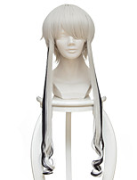 cheap -Cosplay Wigs Land of the Lustrous Ghost Quartz Anime Cosplay Wigs 35 CM Heat Resistant Fiber Unisex
