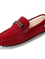 cheap -Men's Shoes Suede Spring Fall Driving Shoes Loafers & Slip-Ons for Casual Blue Green Red Gray Black