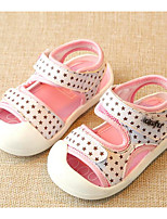 cheap -Baby Shoes Leatherette Spring Summer Comfort First Walkers Sandals for Casual Royal Blue Khaki Pink