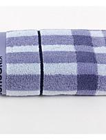 abordables -Style frais Serviette,Ecossais/à Carreaux Qualité supérieure Pur Coton Etoffe plaine Serviette