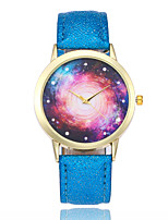 cheap -Women's Fashion Watch Wrist watch Chinese Quartz Casual Watch Leather Band Colorful Black White Blue Red Brown Pink
