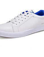 cheap -Men's Shoes PU Spring Fall Comfort Sneakers for Casual White Black White/Blue White/Green