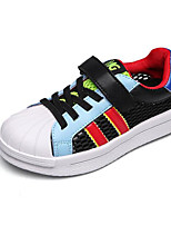 cheap -Boys' Shoes Real Leather Spring Fall Comfort Sneakers for Casual Gray Black White