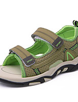 cheap -Boys' Shoes Synthetic Microfiber PU Spring Summer Comfort Sandals for Casual Army Green Gray Dark Blue