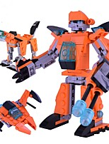 cheap -Robot Building Blocks Toys Classic Theme Transformable Classic New Design Soft Plastic Kids Pieces
