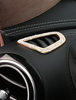 Недорогие -автомобильный Автомобильные кондиционеры Вентиляционные крышки Всё для оформления интерьера авто Назначение Mercedes-Benz 2017 E300L