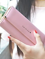 cheap -Women Bags PU Wallet Pattern / Print for Casual All Season Blushing Pink