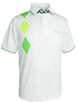 economico -Per uomo Golf T-shirt Asciugatura rapida Indossabile Traspirabilità Golf Attività all'aperto