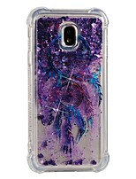 cheap -Case For Samsung Galaxy J7 (2017) J5 (2017) Shockproof Flowing Liquid Pattern Back Cover Dream Catcher Soft TPU for J7 (2017) J7 (2016)