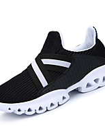 cheap -Men's Shoes PU Winter Fall Comfort Sneakers Walking Shoes for Casual Outdoor Black Orange Gray Pink