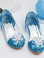 abordables -Fille Chaussures Paillette Brillante Printemps Automne Confort Chaussures de Demoiselle d'Honneur Fille De minuscules talons pour les ados