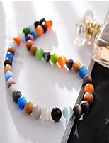 cheap -DIY Jewelry 38 pcs Beads Crystal Camouflage Color Round Bead 1 cm DIY Necklace Bracelet