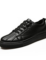 cheap -Men's Shoes PU Spring Fall Comfort Sneakers for Outdoor White Black Red