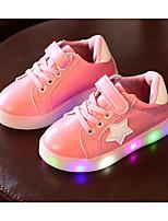 economico -Da ragazza Scarpe PU (Poliuretano) Primavera Autunno Comoda Sneakers per Casual Bianco Nero Verde Rosa