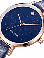 cheap -Women's Casual Watch Fashion Watch Wrist watch Chinese Quartz Water Resistant / Water Proof Casual Watch Genuine Leather Band Luxury Cool